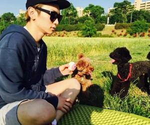 dogs, key, and kpop image