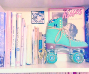 vintage, book, and pastel image