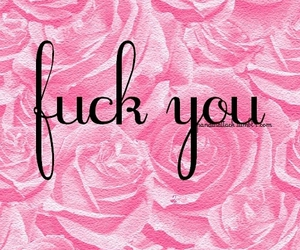 fuck, pink, and ♥ image