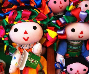 colors, doll, and mexico image