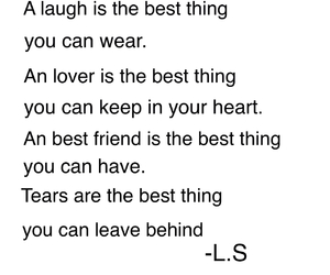 best friends, laugh, and lover image