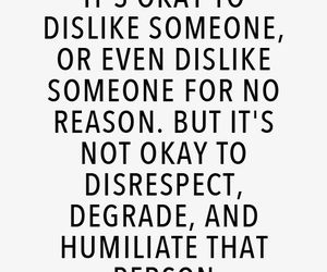 dislike, quotes, and respect image