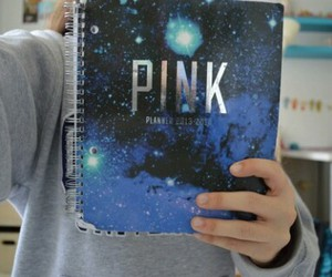pink, notebook, and quality image
