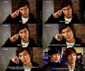 lee min ho, Boys Over Flowers, and kdrama image