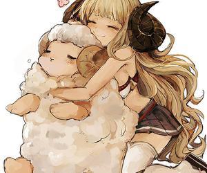 sheep and manga image