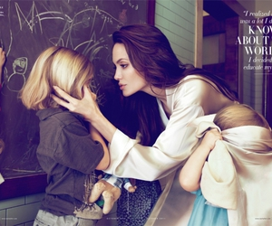 Angelina Jolie, child, and mother image