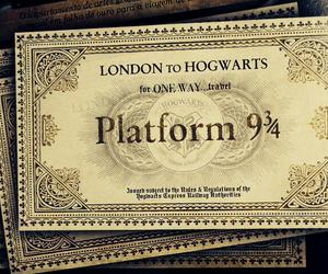 harry potter, hogwarts, and london image