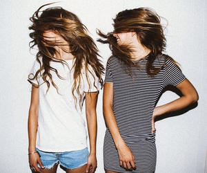 friends, hair, and outfit image