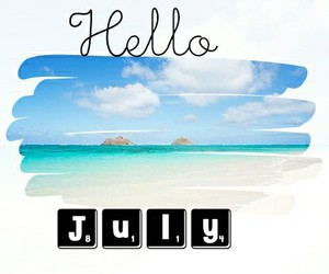 hello july image