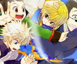 anime, hunter x hunter, and killua image