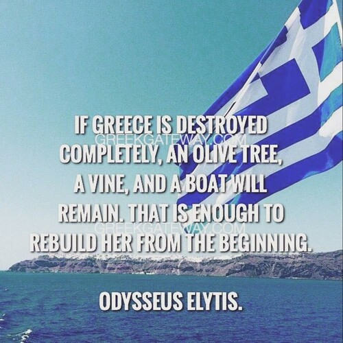 I\'m proud of being Greek and they will never take that ...
