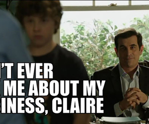funny, godfather, and modern family image