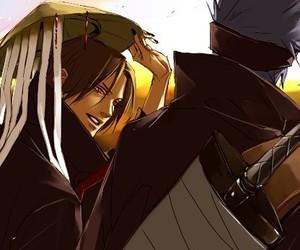naruto, kisame, and akatsuki image