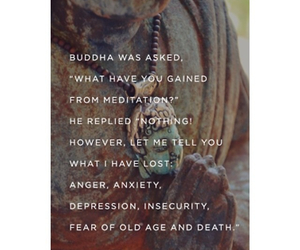 buddah, so true, and meditate image