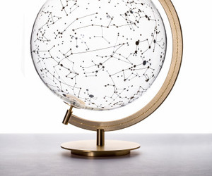 globe, stars, and constellation image