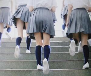girls and schoolgirls image