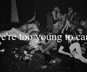young, party, and care image