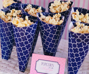 popcorn, food, and delicious image