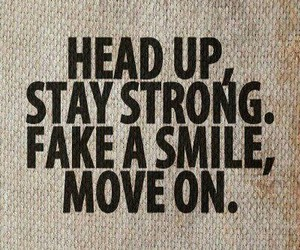 quote, move on, and strong image