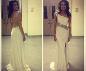 evening dresses and one shoulder prom dress image