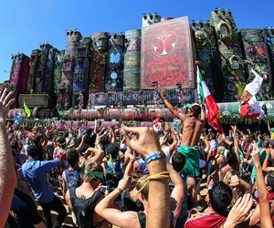 music, Tomorrowland, and love image