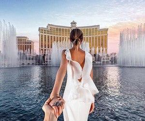 travel, Las Vegas, and couple image