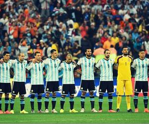 argentina, football, and pasion image