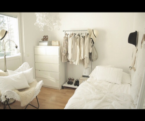 bedroom, chic, and pretty image