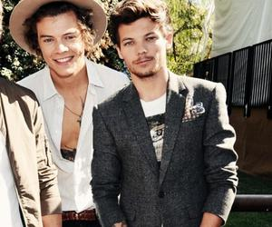 louis tomlinson, Harry Styles, and larry image