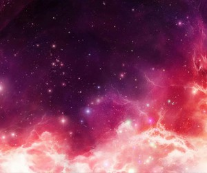 galaxy, purple, and sky image