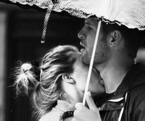 feelings, rain, and love image