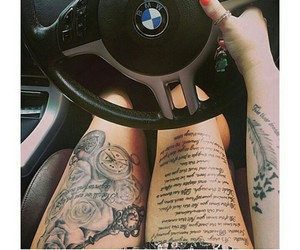 bmw, life, and tattoo image