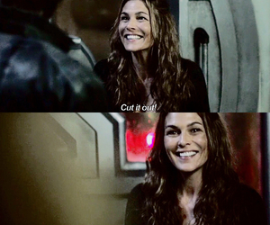 bts, the 100, and paige turco image