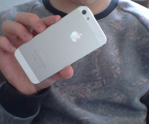 pale, iphone, and grunge image