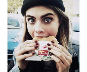 face, hamburger, and cara image