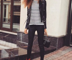 autumn, cool, and fashion image