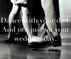 dad, dance, and wedding image