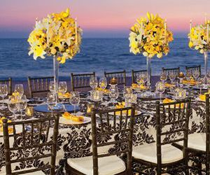 party, tablescape, and wedding image