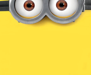 iphone, minions, and wallpaper image