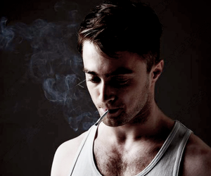 daniel radcliffe and smoke image