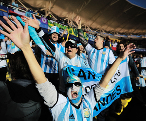 argentina and argentina fans image