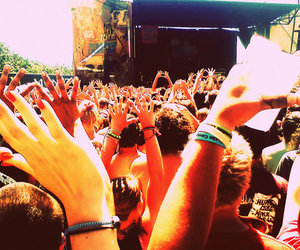 3OH!3, concert, and hands image