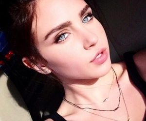 blue eyes, girl, and ryan newman image