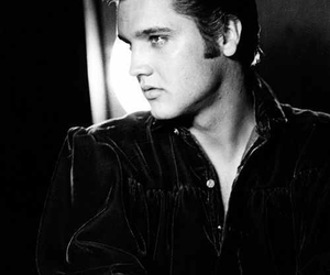 50s and Elvis Presley image