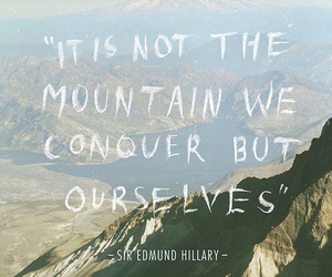 quote, mountains, and life image