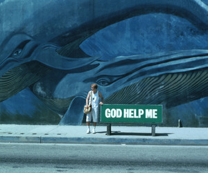 blue, blue whale, and help image