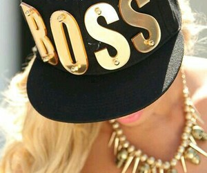 boss, fashion, and girl image
