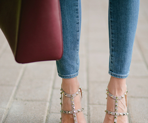 fashion, shoes, and Valentino image