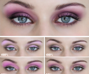 eyes, tutorial, and fashion image