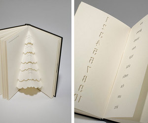 book, book design, and numbers image